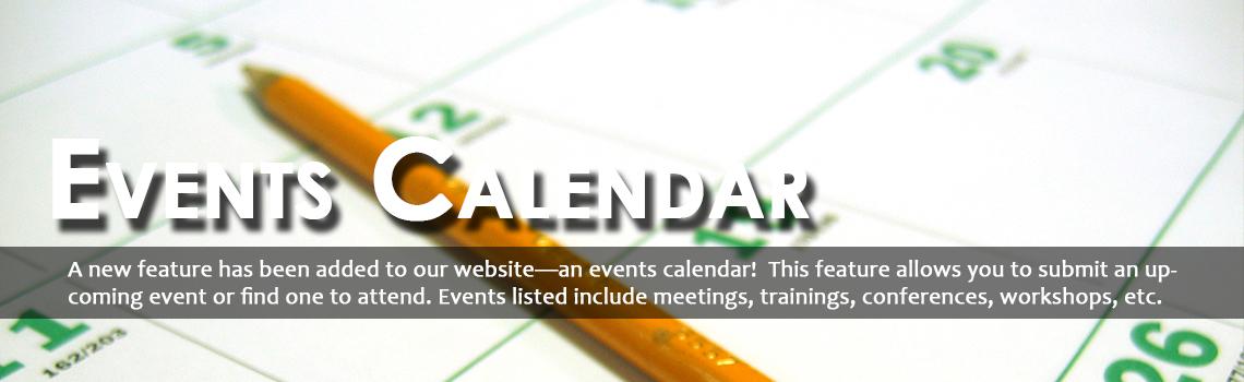 Events Calendar!
